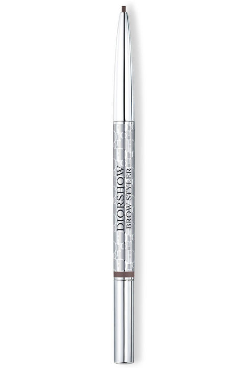 Best for medium-brown brows, this soft, blendable pencil came recommended by ELLE deputy editor Maggie Bullock, like, a million years ago.  Dior Diorshow Brow Styler, $21; dior.com