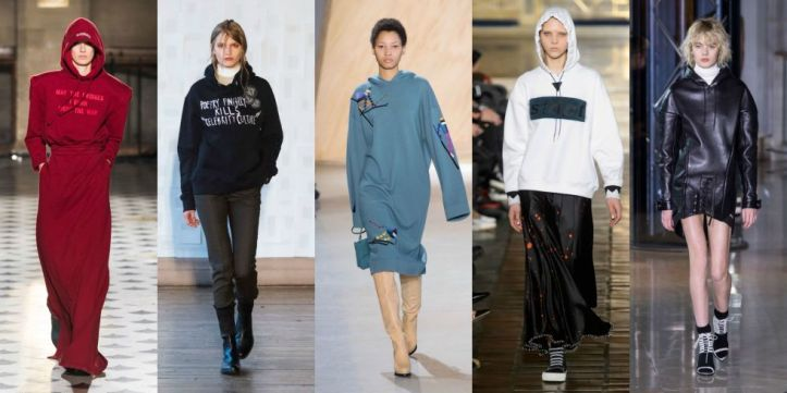 You're in luck, luxury comfort is still key for fall 2016. Snuggle up in options brought to you by everyone from Lacoste to Anthony Vaccarrello.  As seen at Vetements, Each x Other, Lacoste, Alexander Wang, and Anthony Vaccarello