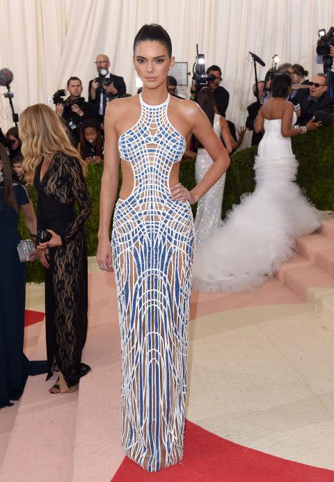 In Versace.