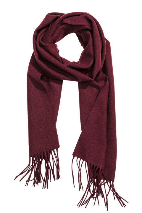 What can we say? It's a classic holiday gift. H&M Wool Scarf, $30; hm.com