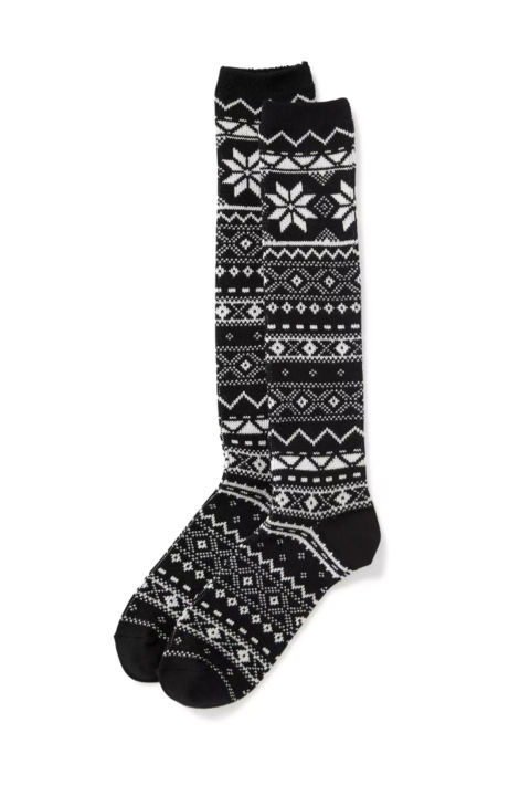 Old Navy Fair Isle Boot Socks, $9; oldnavy.com