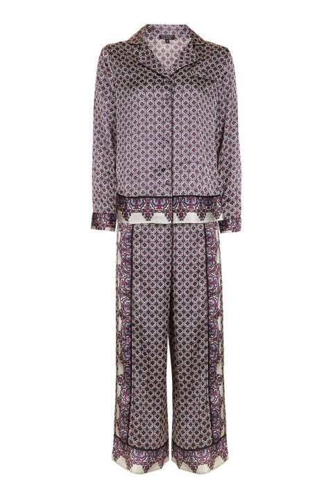 Tile Print Pyjama Set, $65; us.topshop.com