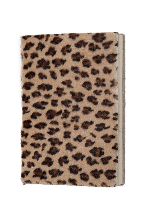 Zara Leopard Print Leather 2017 Diary, $40; zara.com