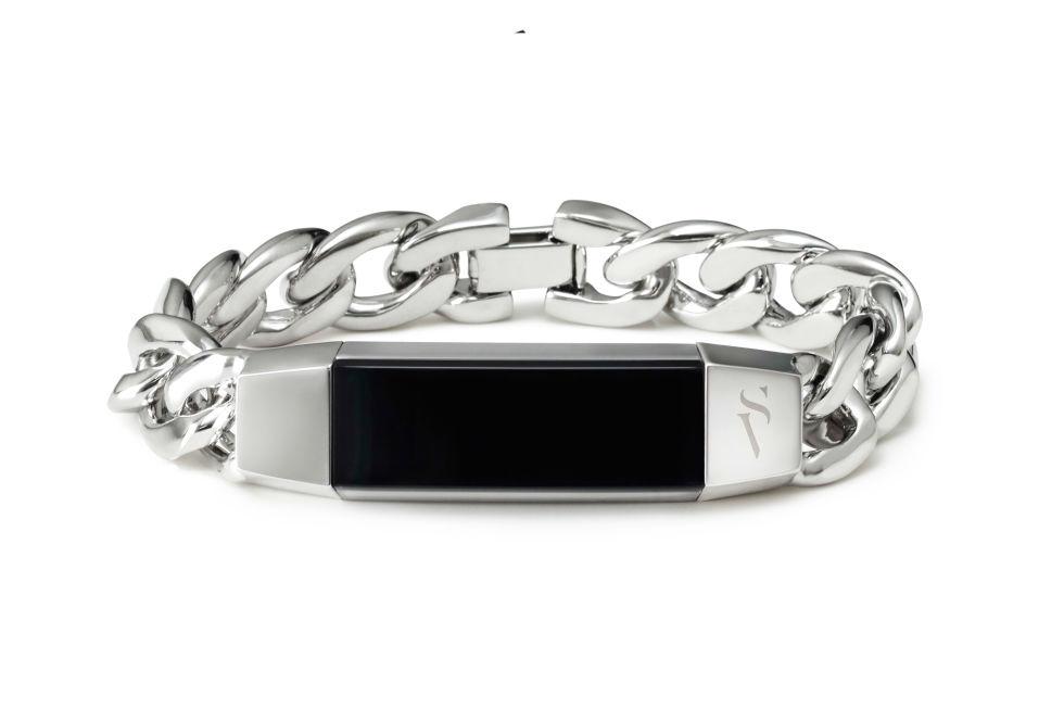 Simply Vera Vera Wang for Fitbit Alta Metal Bracelet, $80; kohls.com