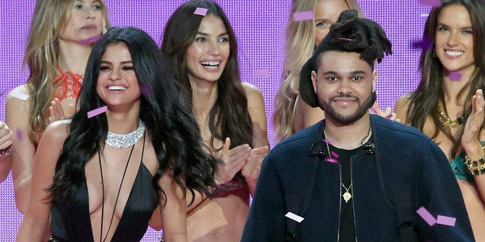 Image result for the weeknd and selena gomez