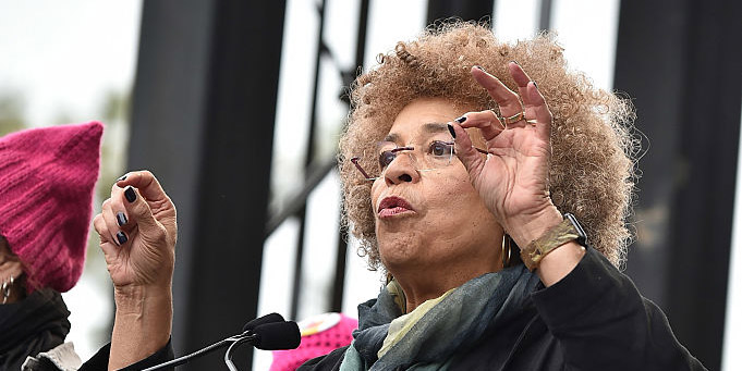Image result for angela davis washington 21 january 2017