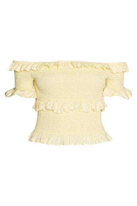 H&M Off-The-Shoulder Blouse, $40; hm.com