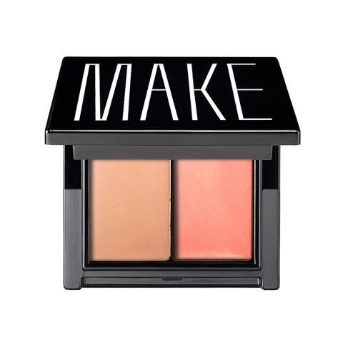 This compact has both a matte and glossy finish, allowing you tobe strategic about your dewiness levels rather thana victim to youroil glands. Also good to know: Thematte sidemakes skin look straight-up airbrushed.$27; makebeauty.com