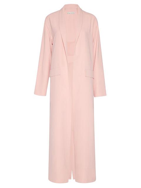 gigi hadid millenial pink alice + olivia coat