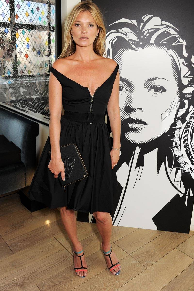 Kate Moss Reveals Her One Weakness Model Insecurities