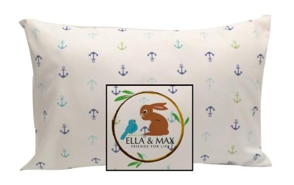 Anchor Toddler or Traveler Pillowcase