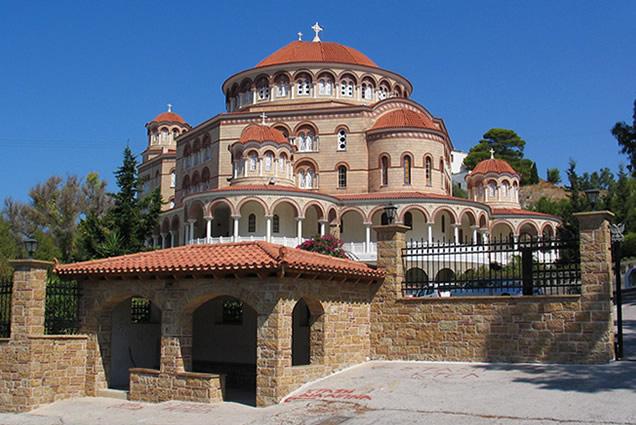 Agios Nektarios, Aegina