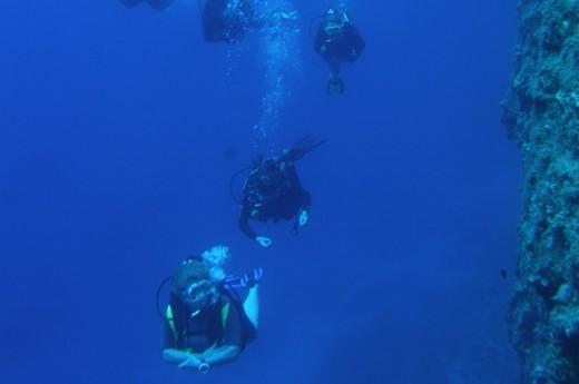 Amorgos Diving Center, Aigiali bay, Amorgos