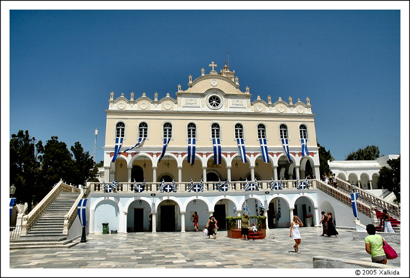 Church of the Panagia, Tinos