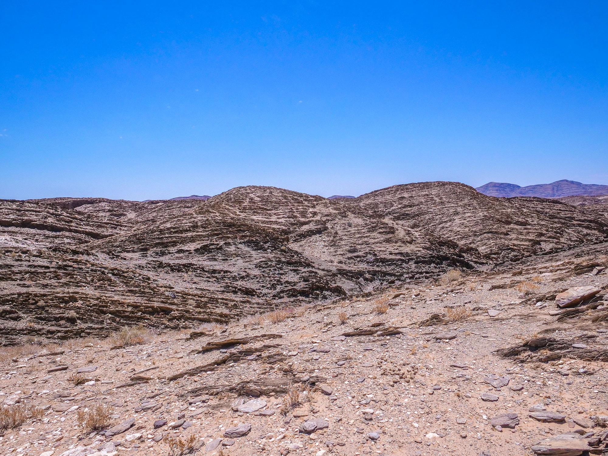 Kuiseb Pass canyon in Namib Desert, Namibia, Africa