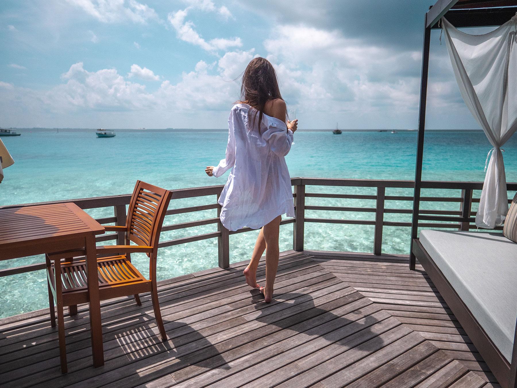 Ella in Wanderlust in Maldives