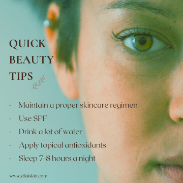quick beauty tips