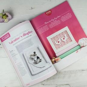 Homemaker, featuring heart pattern by Ella Johnston