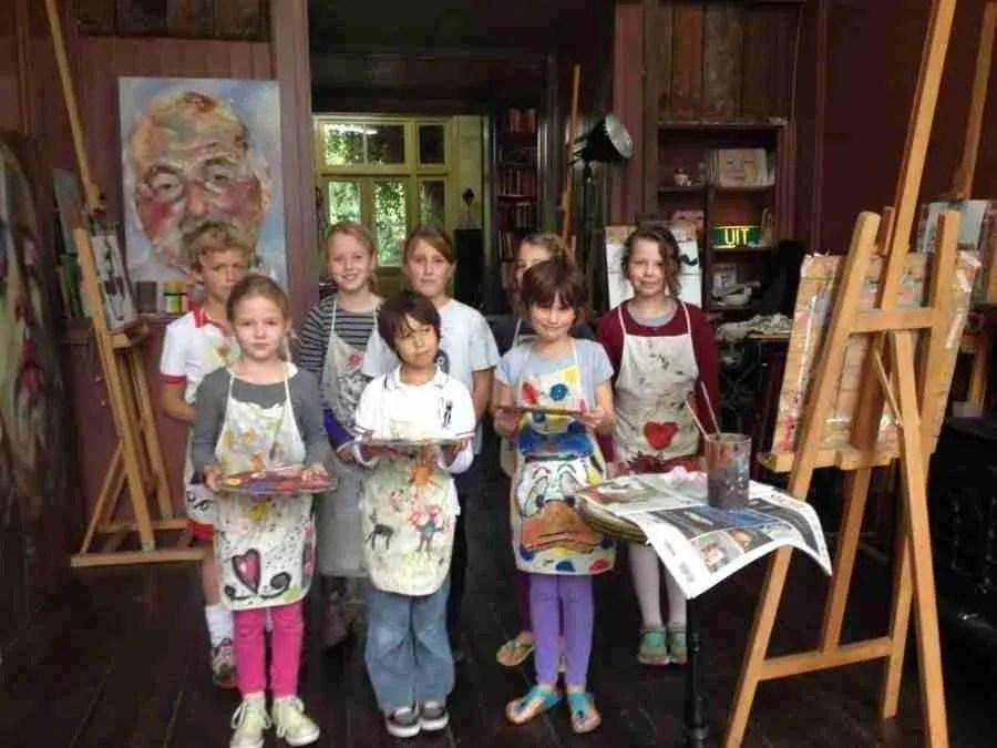 kinderpartij schilderles atelier #Haarlem