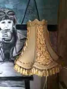 Vintage lampenkap
