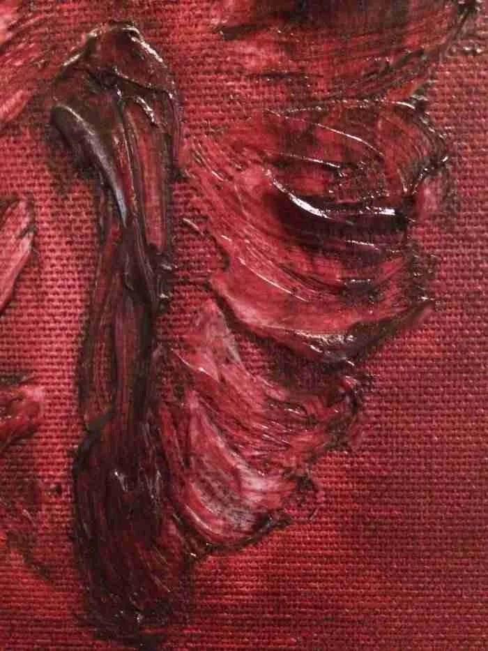 Fossiel van een luis. Close up cochenille luis