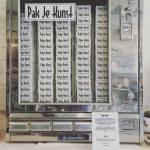 Pakje Kunst in de oude sigaretten automaat