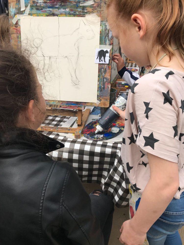 Workshop schilderles Haarlem