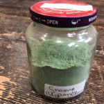Het pigment groene aarde