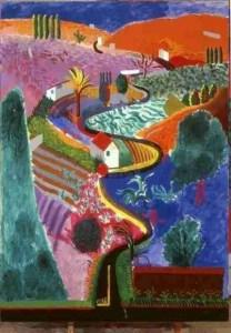 Hockney en Van Gogh samen in beeld