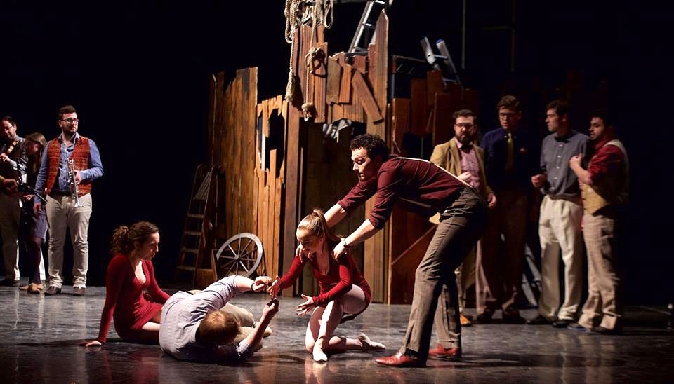Soldiers Tale Bloomsbry Theatre 2015