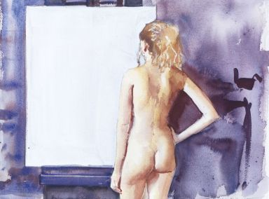 © Robbie Wraith (Blank Canvas, Watercolour)