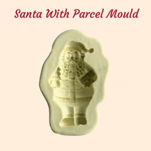 Santa With Parcel Mould