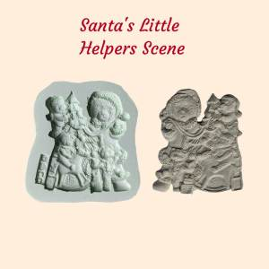 Santa's Little Helpers Scene