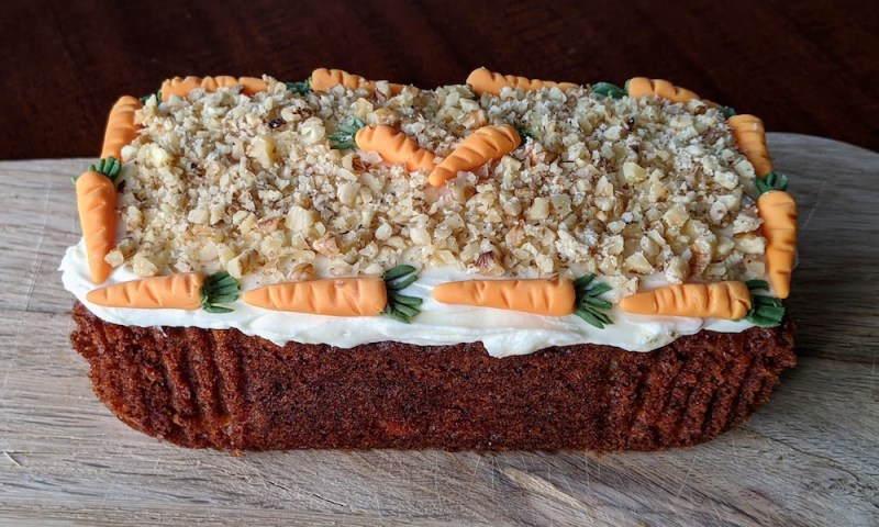 Ella's Barn Carrot Cake