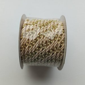 Ivory / Gold Twist Rope