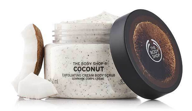 The Body Shop Exfoliante Corporal Cremoso de Coco