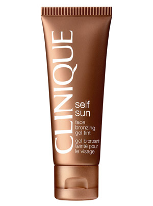 Face bronzing gel tint de Clinique