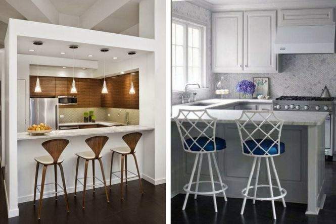 7 ideas para decorar cocinas modernas y peque as ellas for Modelo de cocina pequena moderna