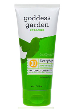 Goddess Garden Sunscreen Natural SPF 30