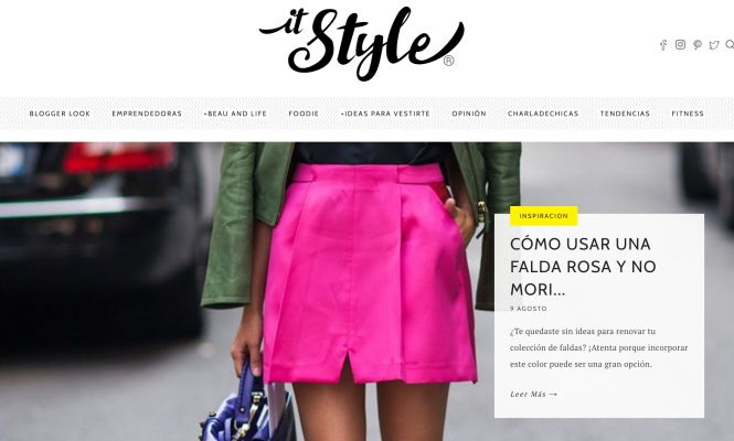 IT Style Blog por Ellie Moto