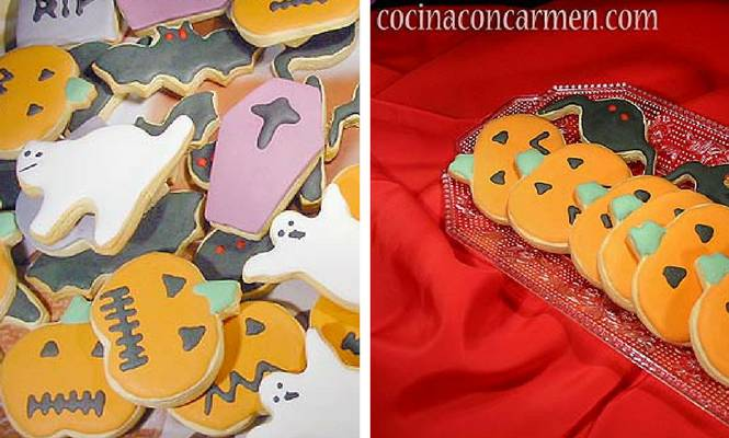 receta de galletas de Halloween con Thermomix