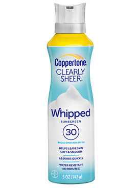 CLEARLY Sheer Whipped de Coppertone