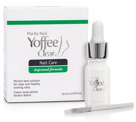 Yoffee Clear Purity Nail