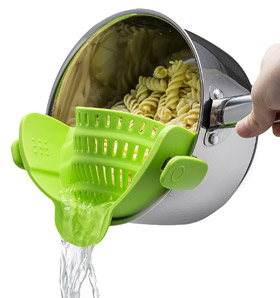 Escurridor Snap 'n Strain de Kitchen Gizmo