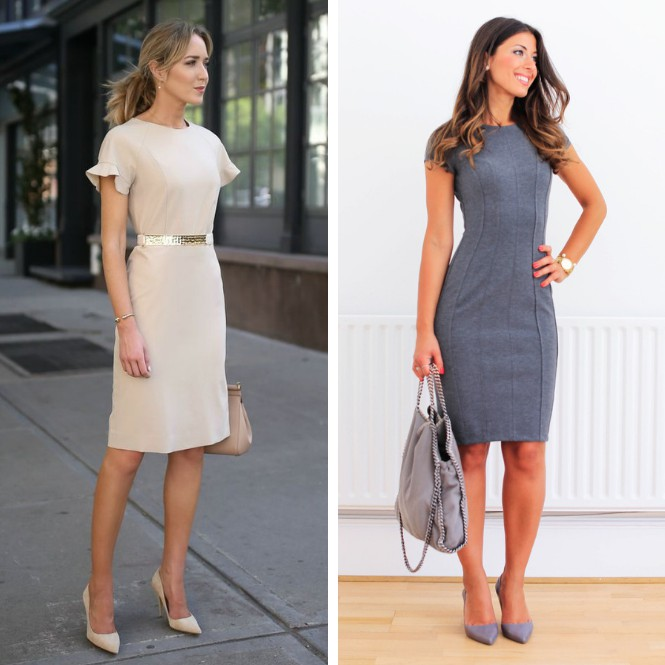 dress code business casual con vestido