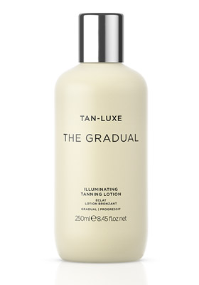The Gradual Illuminating Tan Lotion de Tan-Luxe