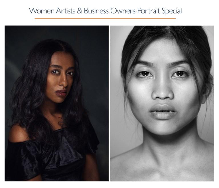 Women Artists & Business Owners Portrait Special, Oakland, San Francisco Bay Area. Photographer Ella Sophie