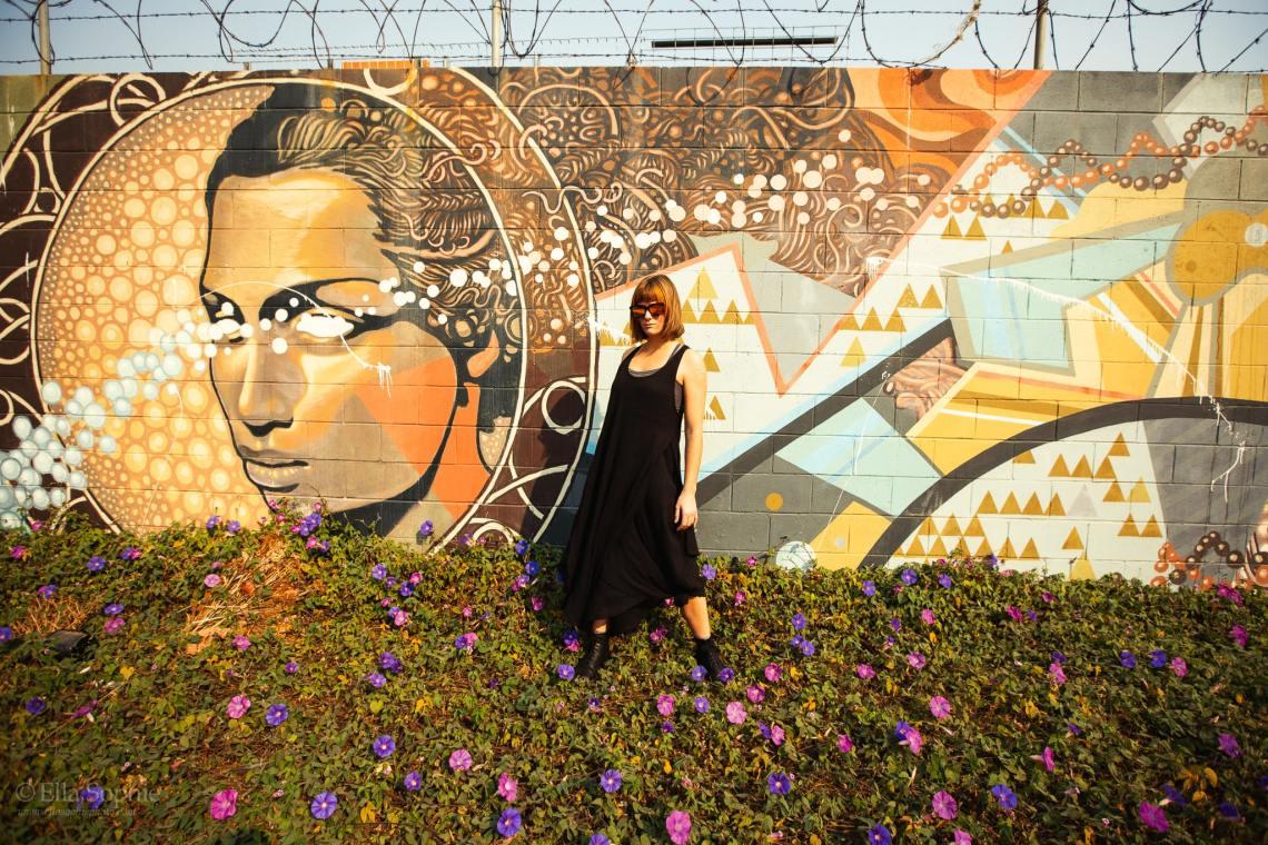 Bay Area Artists, Portrait Photographers Ella Sophie. Murals in Oakland