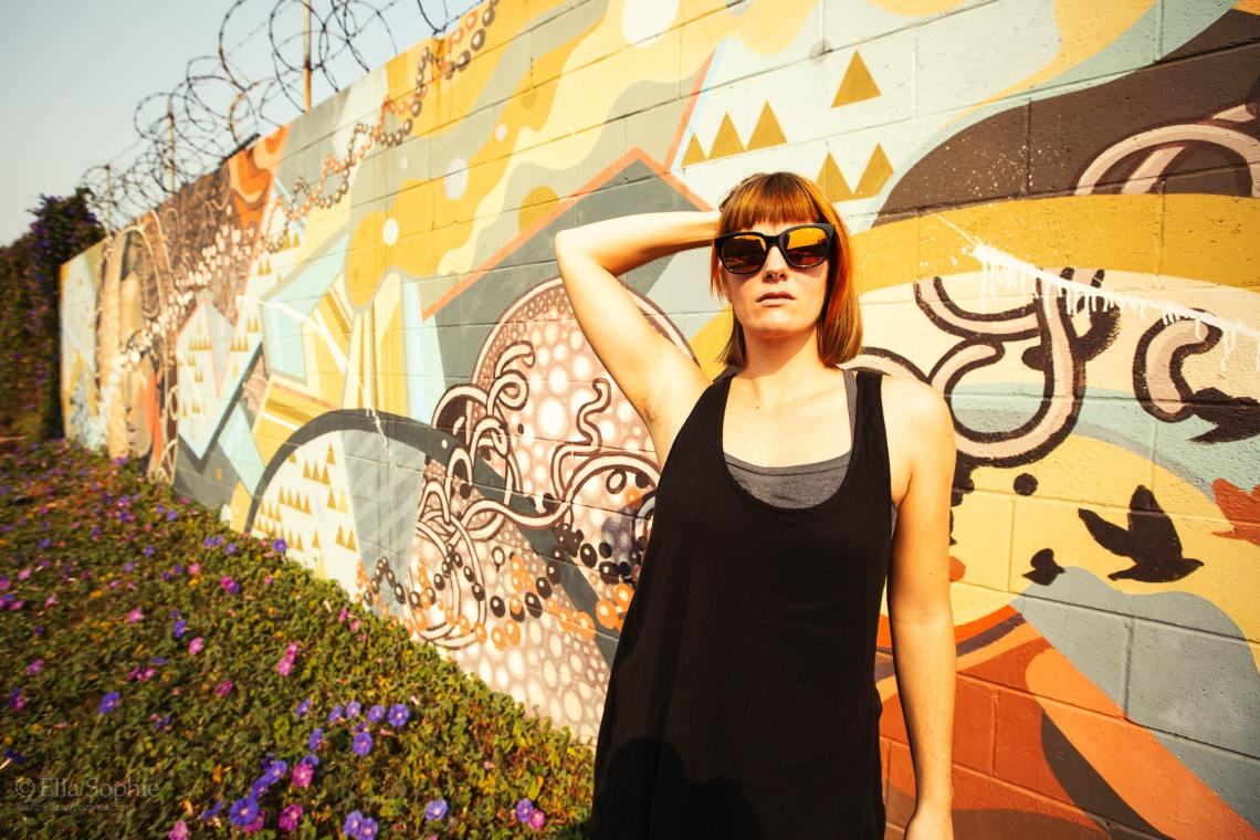 Bay Area natural light outdoor portraits. Portrait for Artists, photographed by Ella Sophie