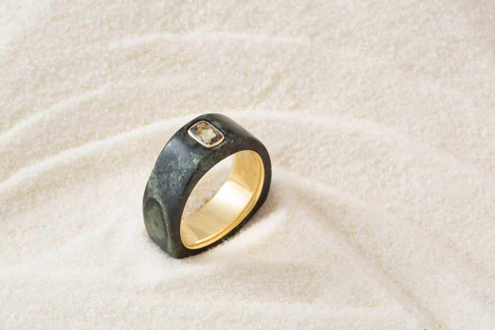 Ring still life photo by California jewelry photographer Ella Sophie